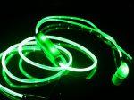 هندزفری led دار جادویی دارای چراغ LED در سرتاسر کابل و رقص نور به هنگام پخش موزیک و تماس